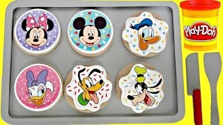 Let's Bake Cookie with Play Doh & Disney Mickey Mouse Clubhouse Toy Set