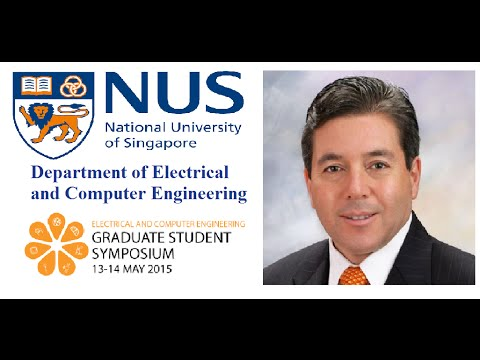 Dr Ogan Gurel at NUS ECE Graduate Student Symposium (GSS) 2015