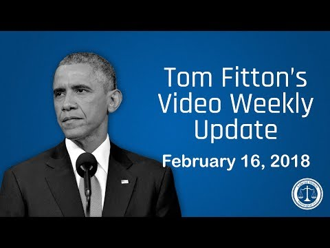 Tom Fitton's Weekly Update - 'What did Obama know about the Clinton/DNC Dossier?'