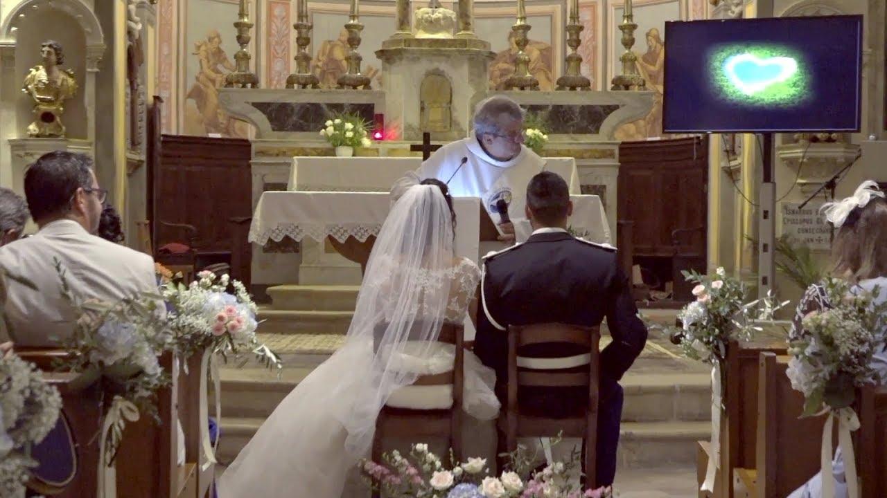 video mariage mairie/église