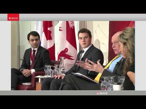 "Panel 3: Young Leaders on the Global Stage - ""Canada on the Global Stage"""