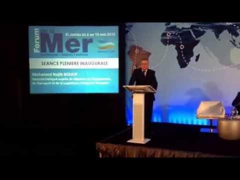"""Najib BOULIF Ministre des Transports:"""" L'un de nos Grands défis est de revenir à ce Maroc Maritime"""""""