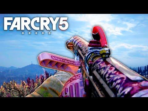 Far Cry 5 - SECRET NEW FLAMETHROWER ADDED IN FAR CRY 5 (Far Cry 5 NEW DLC)
