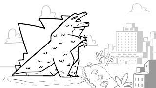 Godzilla Vs M O N K E