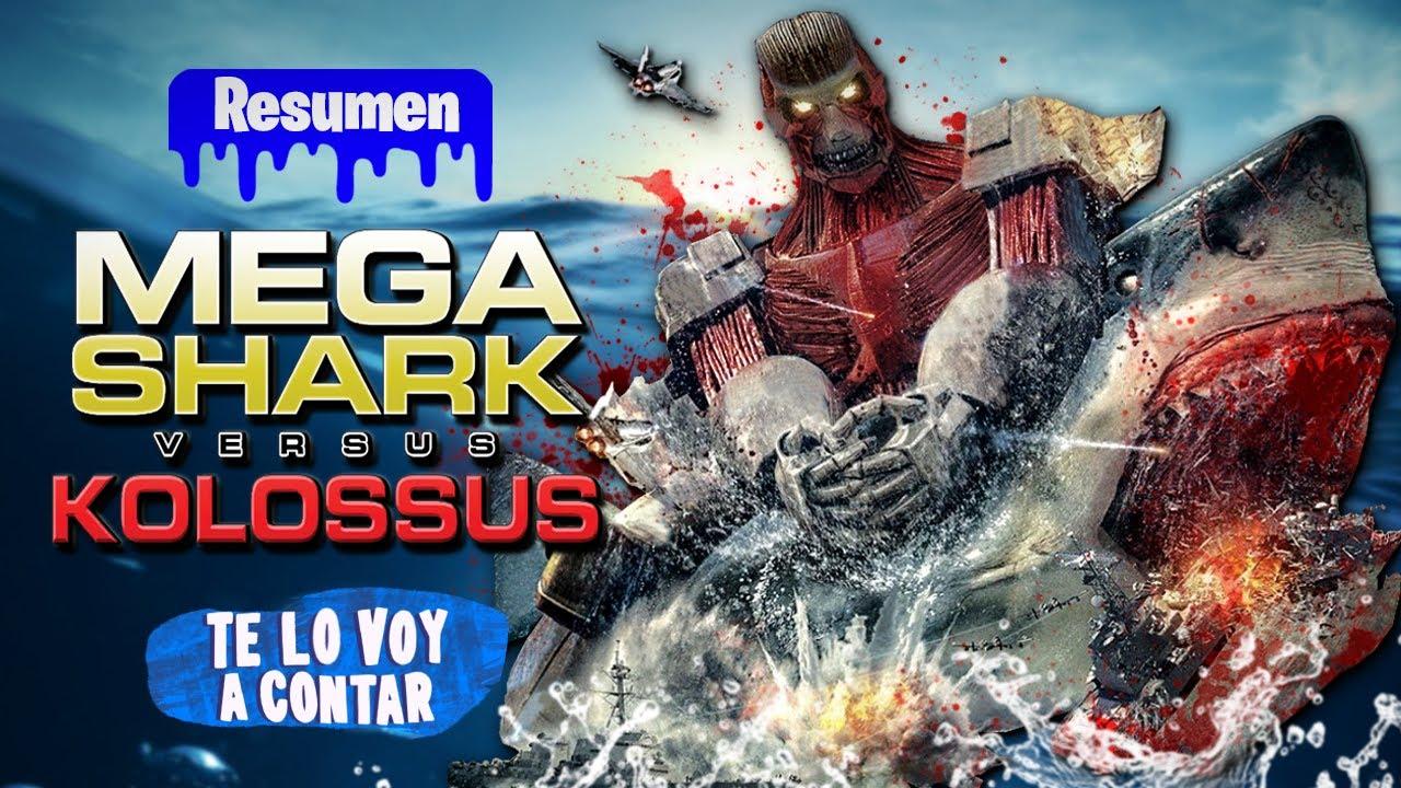 Download EL TITAN COLOSAL VS EL TIBURON GIGANTE ASESINO EN 12 MINUTOS | RESUMEN