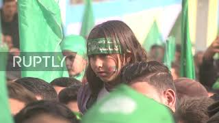 State of Palestine: Thousands join celebrations of 32nd anniversary of Hamas