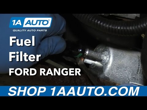How to Replace Fuel Filter 98-12 Ford Ranger