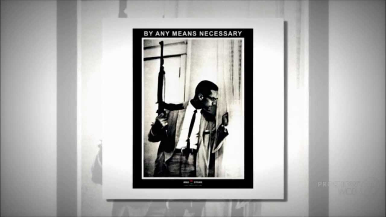 Malcolm X Gun Poster Including Red Black Green Products