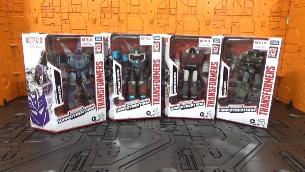 Video Review of Transformers Siege Netflix Deluxe Wave 1 By RFC Reviews