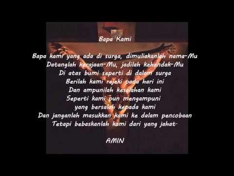 Bapa Kami - Indonesian version of The Lord's Prayer #2