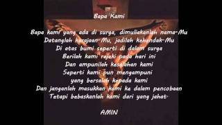Bapa Kami - Indonesian version of The Lord