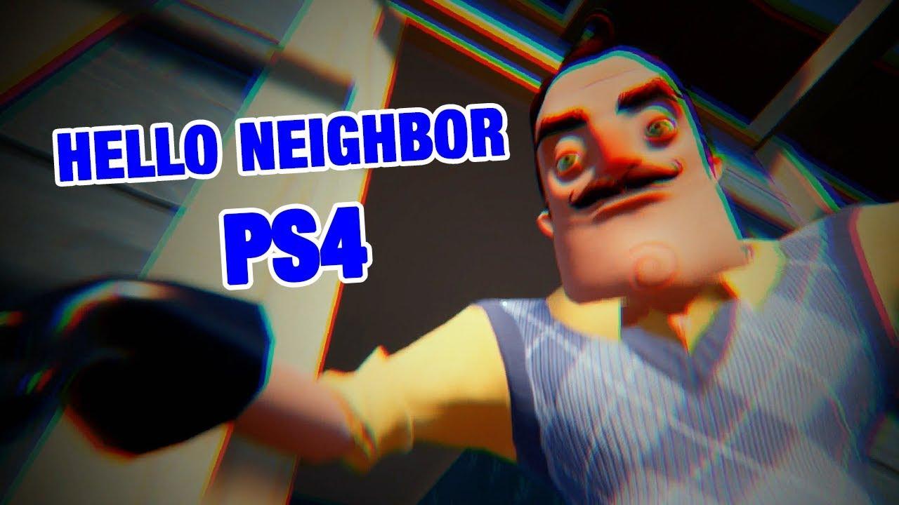 Hello Neighbor Ps4 Hello Neighbor Act 1 Youtube