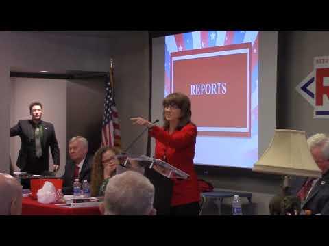 An Arkansas Republican Party District Chair gives an update