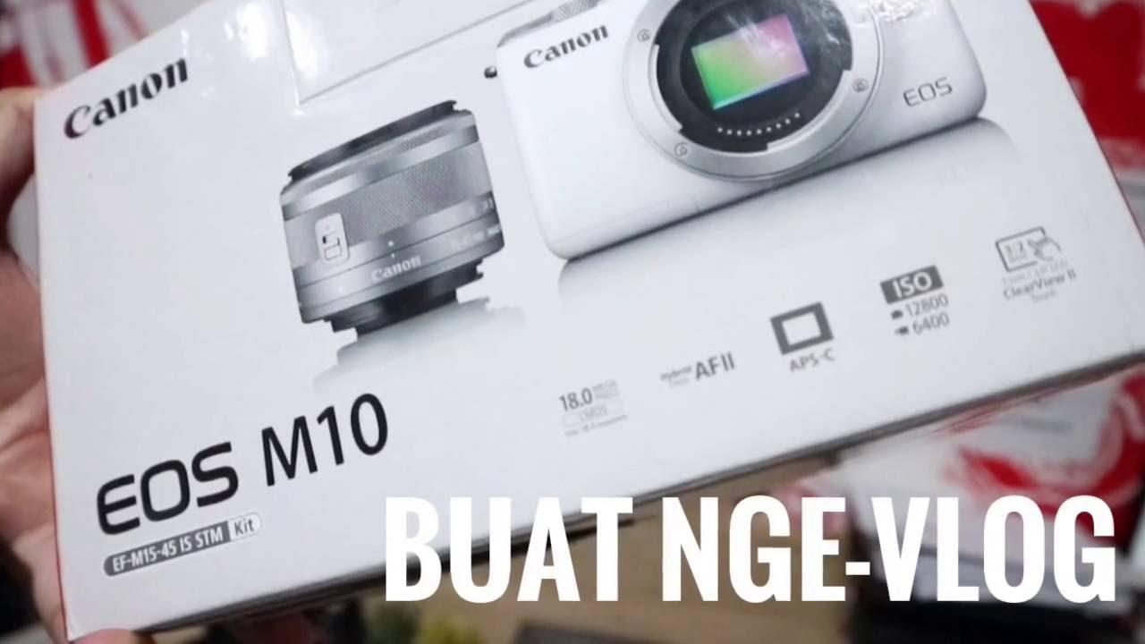 Kamera Vlog Canon Eos M10 Buat Ngevlog