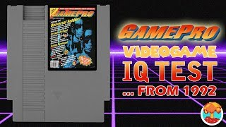 Take the GamePro Video Game IQ Test (From 1992) - Defunct Games