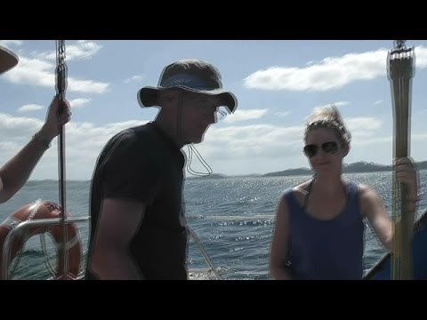 New Zealand. Sailing in the Bay of Islands