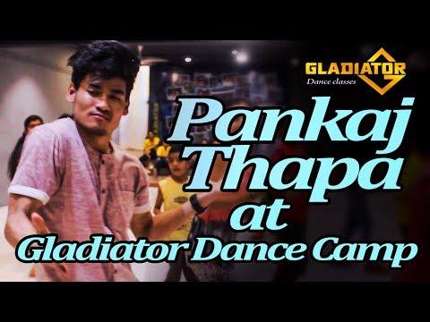 Pankaj Thapa at Gladiator Dance Camp | Gladiator dance classes