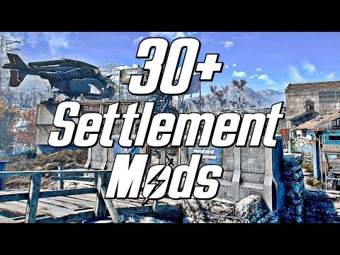 Settlement Mods for Fallout 4