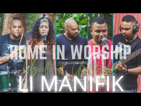Home in worship session with christopher & uzielle | li manifik mp3