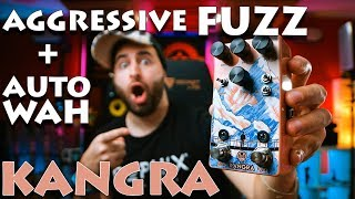 Aggressive Fuzz + Envelope?! Walrus Audio KANGRA Review!