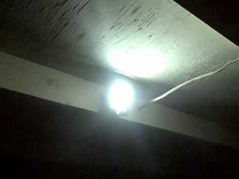 Solar Powered Security Lighting DIY- Motion Activated Spotlight – Floodlight – very bright