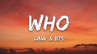 Lauv BTS Who