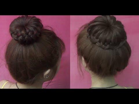 Hairstyles – 2 Kiểu Tóc Tết Búi Donut Siêu Dễ Thương | Yêu Làm Đẹp