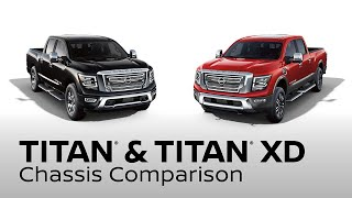 homepage tile video photo for 2020 Nissan TITAN and TITAN XD Truck Comparison
