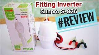 Gadget - Review Sunpro Power Inverter S-826 Fitting Inverter