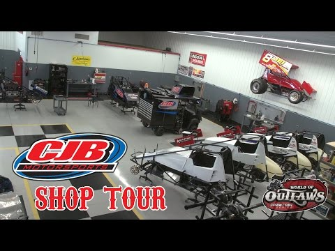 World Of Outlaws Shop Tour: CJB Motorsports | Carlisle, PA