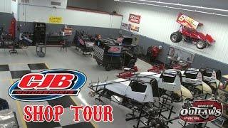 World of Outlaws Shop Tour: CJB Motorsports | Carlisle, PA