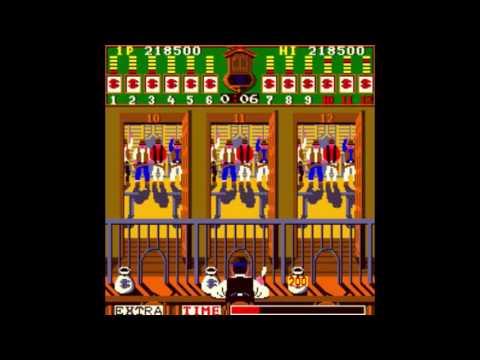 Bank Panic (Arcade) Gameplay