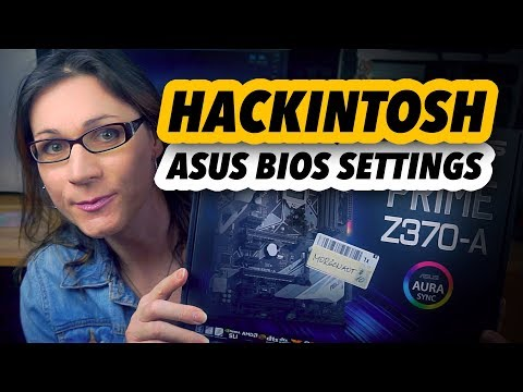 Hackintosh | BIOS settings on ASUS motherboards - MORGONAUT