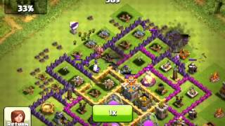 Clash of Clans - Hench Hunters - Base Defense 2