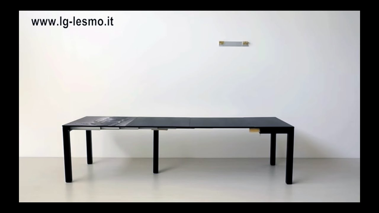 Tavolo Da Pranzo 3 Metri tavolo consolle allungabile | lg lesmo