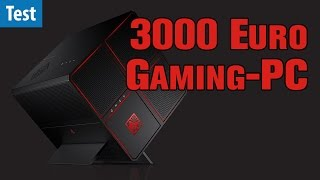 3000 Euro Gaming-PC - HP Omen X im Test | deutsch / german
