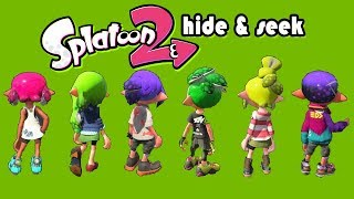 3v3 Hide & Seek! (Splatoon 2 Funny Moments)