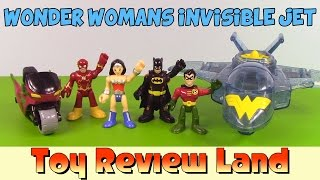 Imaginext Wonder Woman And Her Invisible Jet. Featuring Batman, Robin, And The Flash!