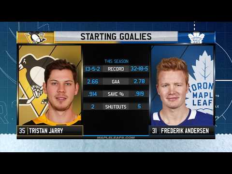 Molson Canadian Leafs Game Day: Toronto vs Pittsburgh - March 10, 2018