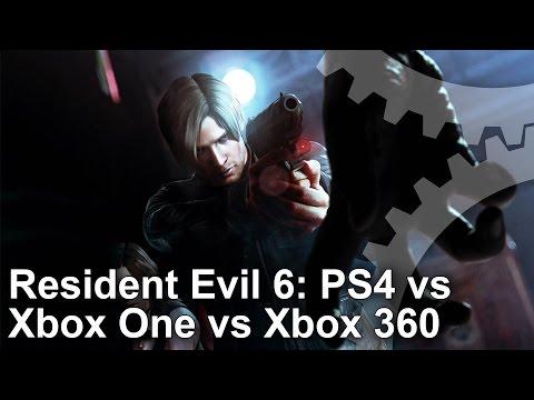 Resident Evil 6 PS4 vs Xbox One vs Xbox 360 Gameplay Frame-Rate Test