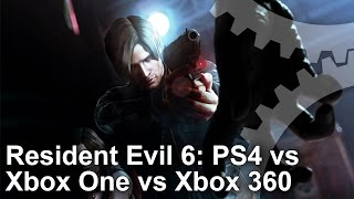 Resident Evil 6 PS4 vs Xbox One vs Xbox 360 Gameplay Frame-Rate Test