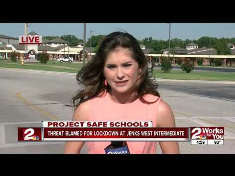 Precautionary lockdown at Jenks West Intermediate after threat from student