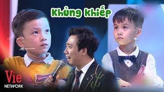 The encounter between 2 GEOGRAPHY CHILD GENIUSES makes Tran Thanh terrified | The Brain Vietnam