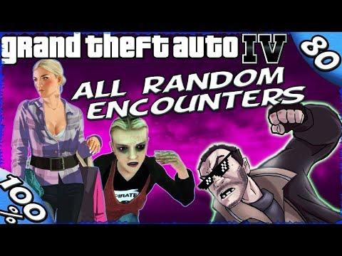 GTA IV - ALL 100% RANDOM ENCOUNTERS [100% Walkthrough]