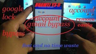 HUAWEI Y3 II LUA L21 Google Account Bypass