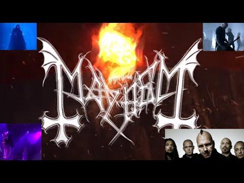 "Mayhem release ""Everlasting Dying Flame"" off EP ""Atavistic Black Disorder/Kommando"""