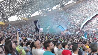 Napoli-siena 2-1 12-05-2013 gol di hamsik live in hd dalla curva b