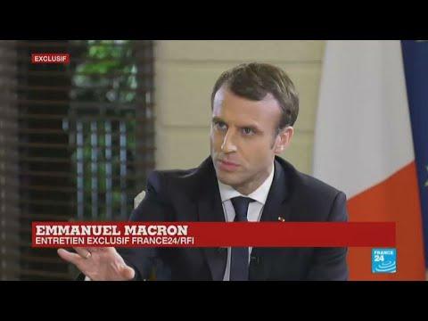 REPLAY - Entretien exclusif avec Emmanuel Macron