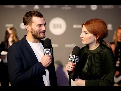Jamie Dornan - Black Carpet Interview BIFA's (4.12.16) HD