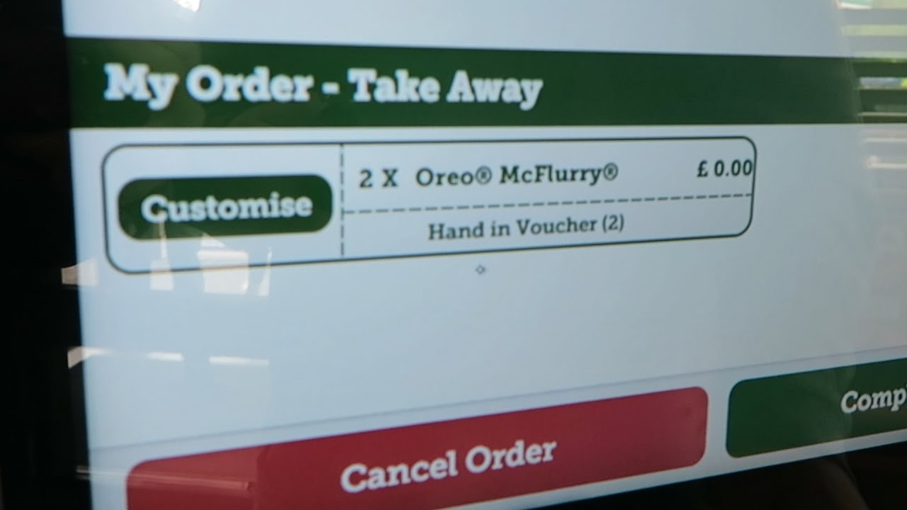 how to get a free mcflurry at mcdonalds